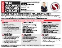 Checklist Sample