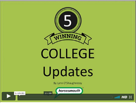 Savvy College Planning Update Webinars