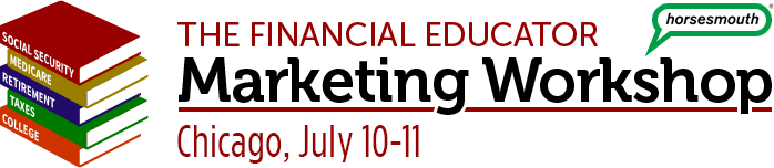 Financial Educator Marketing Workshop