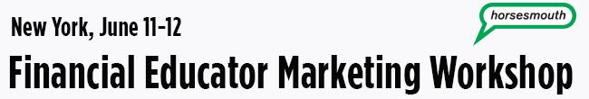 Financial Educator Marketing Workshop