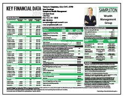 Key Financial Data 2019