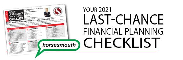 Last Chance Checklist