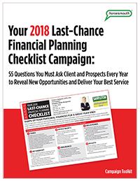 horsesmouth last chance financial planning checklist