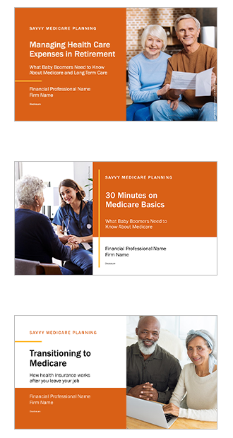 Savvy Medicare Planning PPT Slides