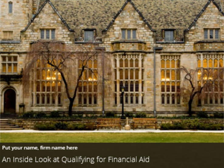 An Inside Look at Qualifying for Financial Aid