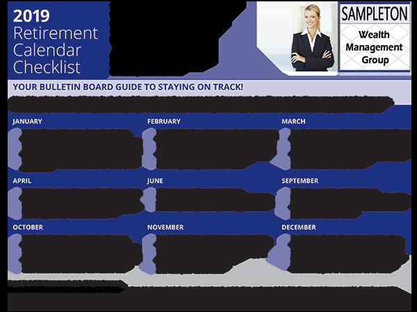 horsesmouth 2019 retirement calendar checklist