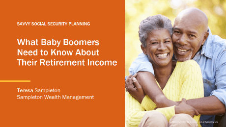 What Baby Boomers Need to Maximize Retirement Income Presentation