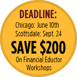 Financial Educator Workshop-Save $200