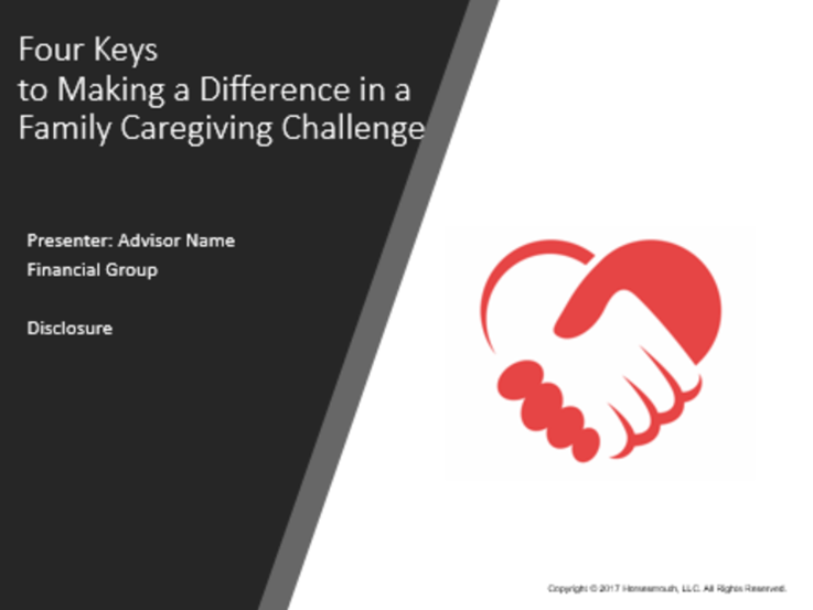 4 Keys to Making a Difference in a Family Caregiving Challenge