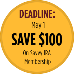 Savvy IRA Planning for Boomers -Save $100
