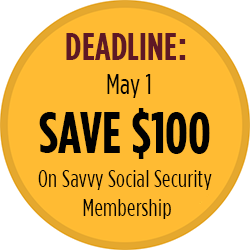 Save $100 on Savvy Social Security