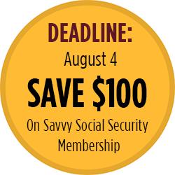 Savvy Social Security-Save $100
