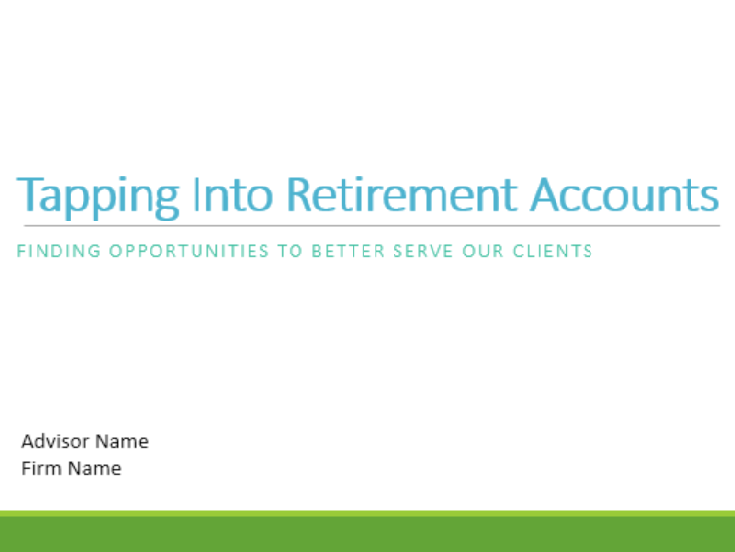 COI Roundtable: Tapping Into Retirement Accounts