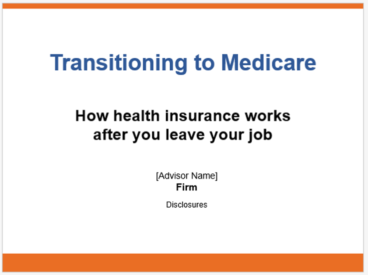 Transitioning to Medicare—How Health Insurance Works After You Leave Your Job