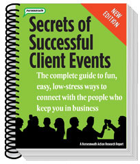 secrets of successful client events book