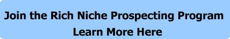 Get the Rich Niche Jumpstart Prospecting Program