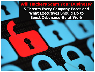 Savvy Cybersecurity Presention-Will Hackers Scam Your Business