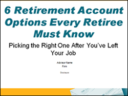 6 Retirement Account Options Presentation