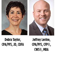 Debra Taylor and Jeff Levine