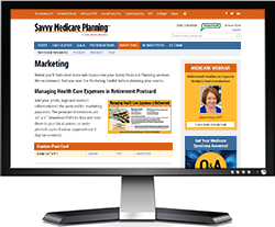 Savvy Medicare Website Monitor