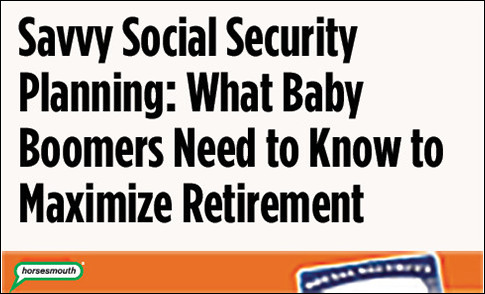 savvy social security planning slide 1