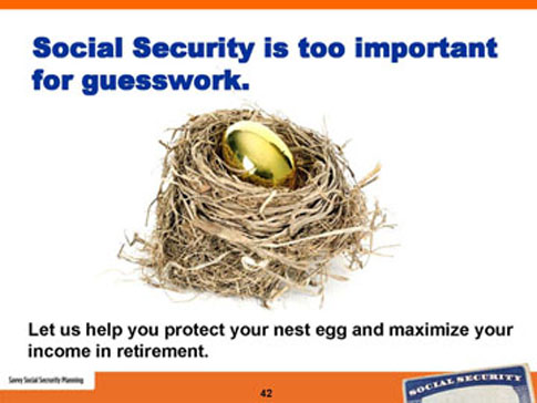 savvy social security planning slide 42