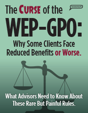The Curse of the WEP-GPO